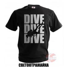 футболка DIVE DIVE DIVE