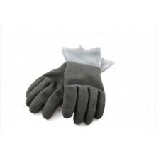 Перчатки резиновые HD, черные.